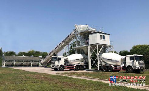 徐州利勃海尔混凝土机械有限公司推出新款混凝土搅拌站Betomix New