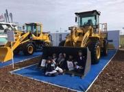 雷沃装载机亮相阿根廷Agroactiva展