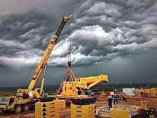 风里、雨里、泥里,XCA1600如何完成首装?