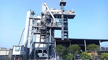 铁拓机械安徽地】区又添厂拌热再生新成员