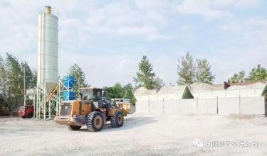 方圆稳定土拌和站服务第七届世界军人运动会工程项目道路建设