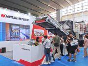 南方路机移动破碎设备亮相第五届广州砂石展