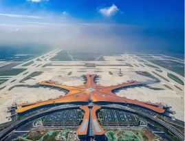 可节约30%施工成本!北京大兴国际机场背后的高空作业设备
