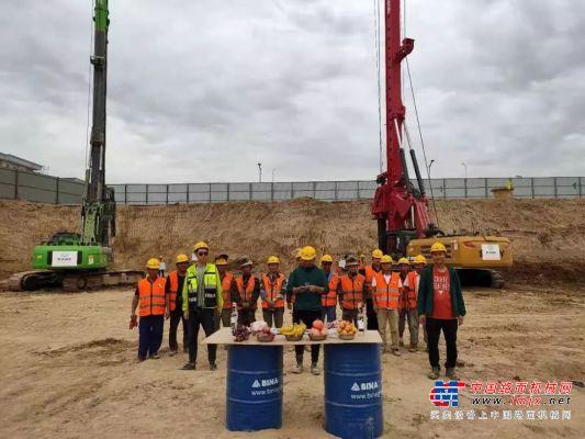 泰信机械与上海建工合作成功进入乌兹别克市场