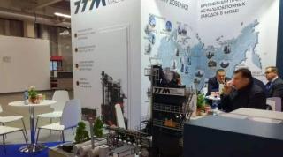 铁拓机械盛装亮相2019俄罗斯国际道路机械展