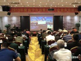 雪桃集团总工黄志明受邀参加南宁市沥青加工行业业务培训会并做专题讲座