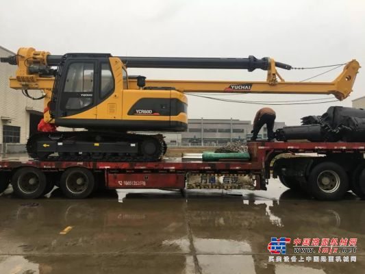 玉柴桩工YCR60D成功打入广东信宜市场