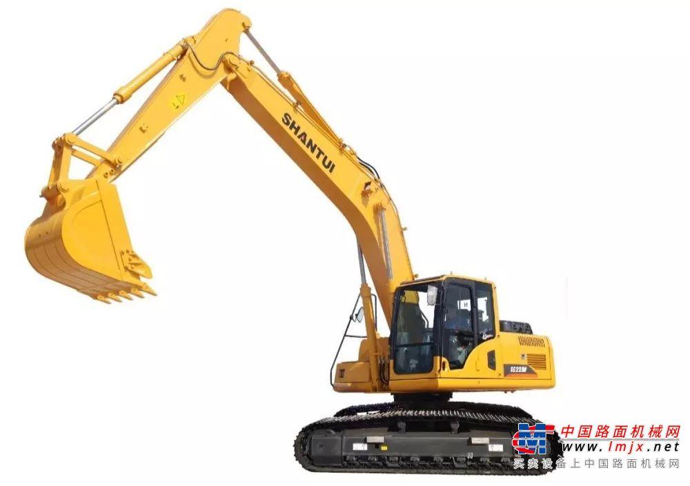 土方能手:山推SE220W挖掘机