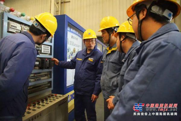 【徐工最美奋斗者】陈刚:争做新时代产业工人排头兵