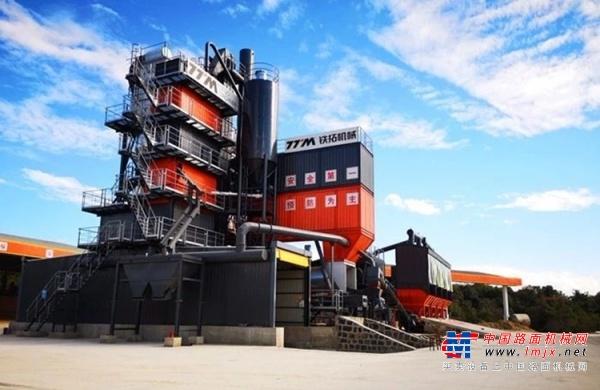 铁拓亚搏直播视频appTSE环保型沥青混合料厂拌热再生组合设备助力云南省道S241线公路工程