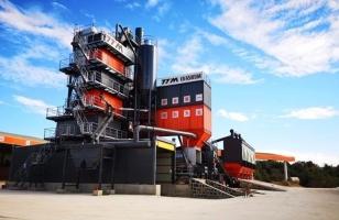 铁拓机械TSE环保型沥青混合料厂拌热再生组合设备助力云南省道S241线公路工程