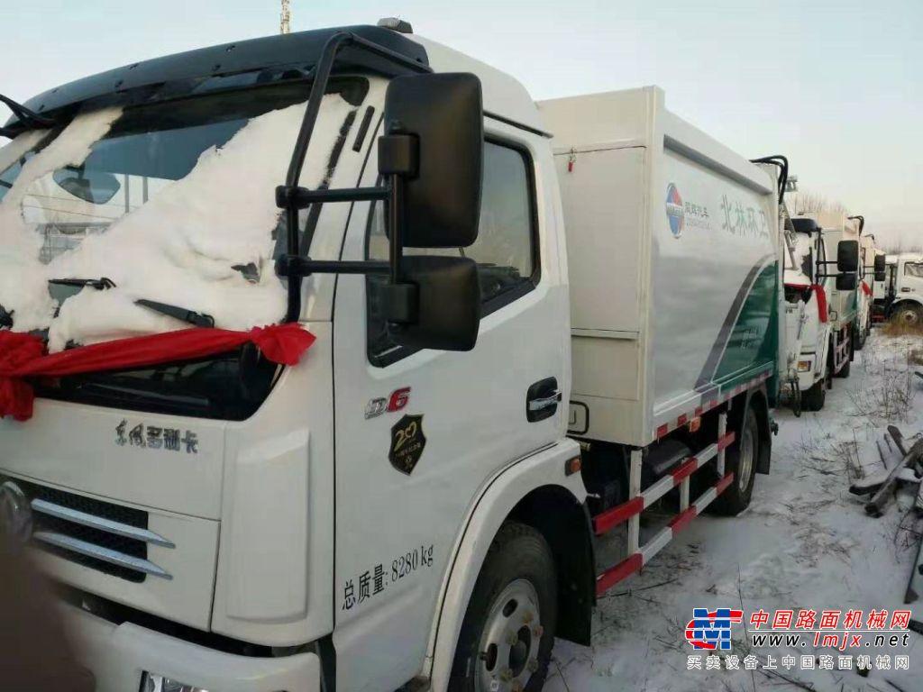同辉汽车:东北项目环卫设备全部成功交付