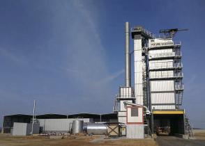 铁拓机械3000型环保沥青搅拌设备落户泉州惠安