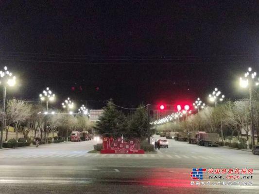 中交西筑能源公司渭南华州区南山大道路灯节能改造项目通过验收