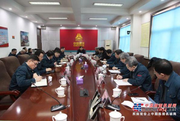 谭旭光:集团各子公司全体党员干部要冲在抗击疫情第一线!