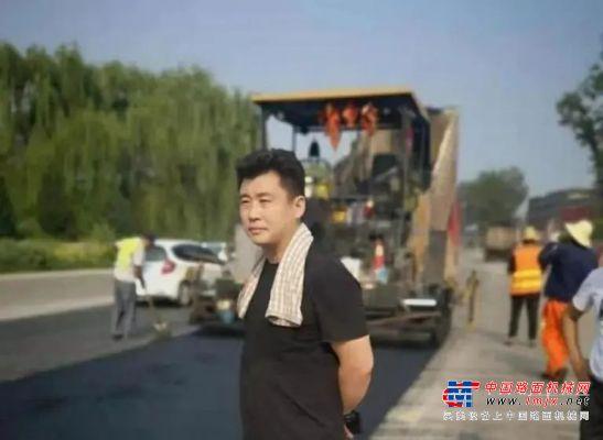 黑色路面 红色心丨北京永隆伟业赵晓伟:结伴三一 加速前行