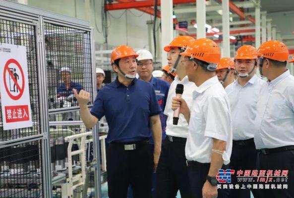 玉林市委书记黄海昆率队走访玉柴在皖浙产业基地和合作伙伴