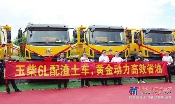 好品质+好口碑,玉柴重型发动机火遍华南工程车市场