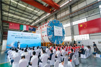 中国出口澳大利亚大直径硬岩TBM在中铁装备下线