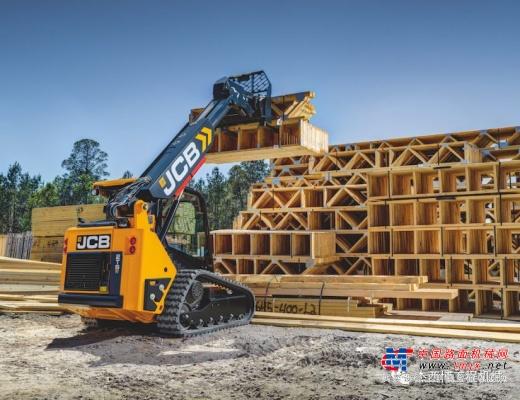 新品上市:JCB发布2TS-7T紧凑型伸缩臂式滑移装载机