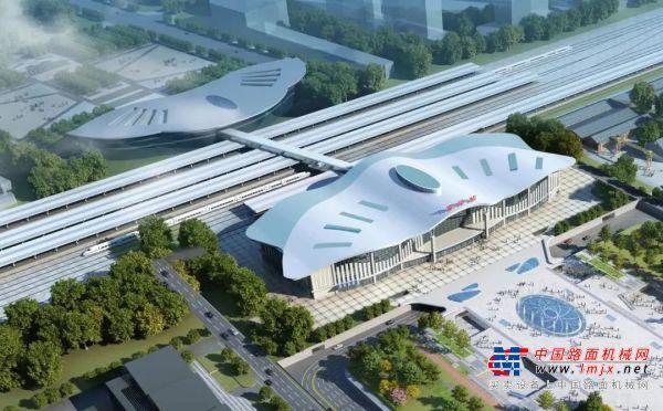 横跨12轨道,4个站台,擎天巨擘SCC20000A首秀潍坊