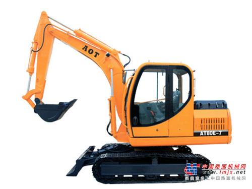 奥泰小型挖掘机推荐,奥泰AT80E-7挖掘机全解