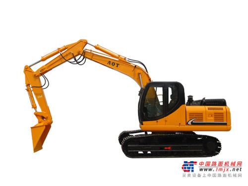 奥泰中型挖掘机推荐,奥泰150E-9(三节臂)火车卸煤挖掘机全解