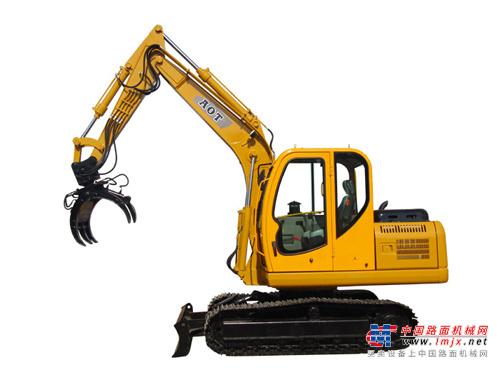 奥泰小型挖掘机推荐,奥泰80抓木机全解
