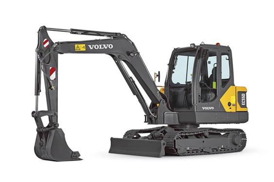 沃尔沃EC55D小型挖掘机/