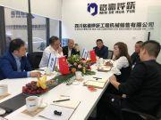 国机重工常林公司总经理考察四川市场