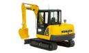 小松小型挖掘机推荐,小松PC56-7液压挖掘机全解