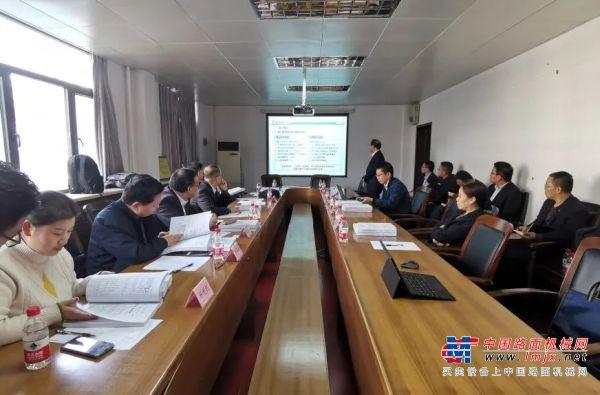 森源重工承担的河南省重大科技专项顺利通过会议验收
