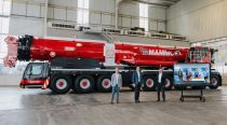 玛姆特公司接收交付有史以来第一台利勃海尔LTM 1650- 8.1移动式起重机