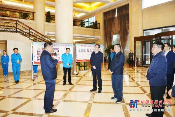 河南省委组织部常务副部长苏长青莅临森源集团调研