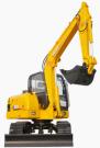 卡特小型挖掘机推荐,卡特CT60-7A挖掘机全解