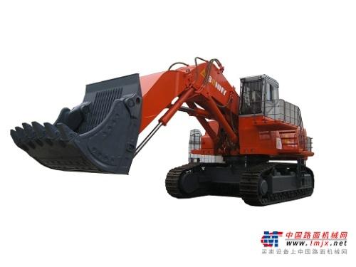 邦立特大型挖掘机推荐,邦立CED1250-7正铲电动液压挖掘机全解