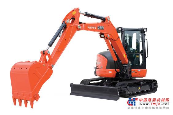 久保田小型挖掘机推荐,久保田KX163-5无尾回转小型挖掘机全解
