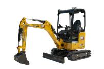 卡特微挖推荐,卡特彼勒新一代Cat®301.7CR迷你型挖掘机全解