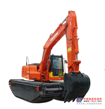 永工中型挖掘机推荐,永工水陆两用挖掘机全解