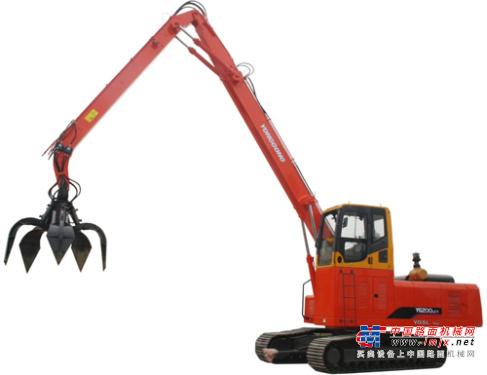 永工中型挖掘机推荐,永工YGSL-146双动力抓料机全解