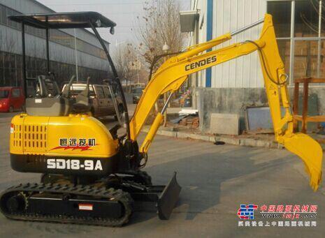 恒远微挖推荐,恒远SD18-9A微型挖掘机全解