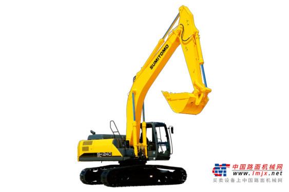 住友中型挖掘机推荐,住友SH240-6液压挖掘机全解