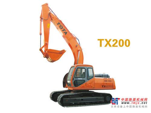 厦装中型挖掘机推荐,厦装TX200挖掘机全解