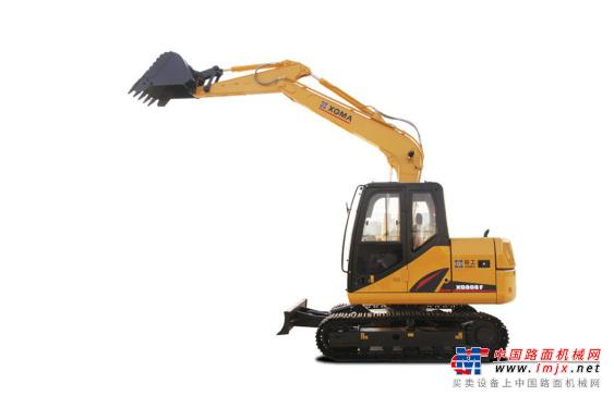 厦工小型挖掘机推荐,厦工XG808F履带式挖掘机全解