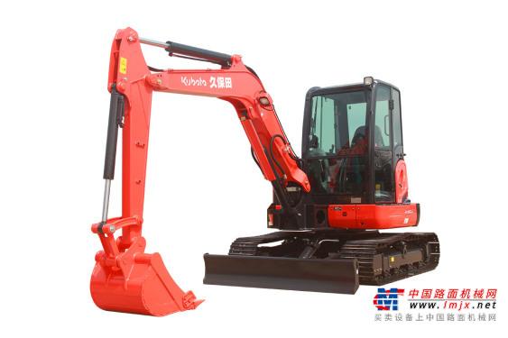 久保田小型挖掘机推荐,久保田KX155-5无尾回转小型挖掘机全解