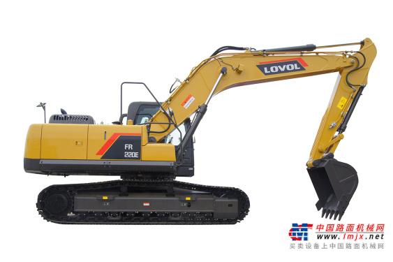 雷沃中型挖掘机推荐,雷沃重工FR220E挖掘机全解