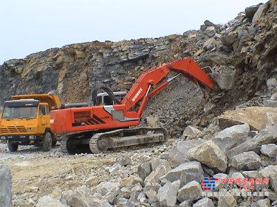 邦立大型挖掘机推荐,邦立CE400-7正铲液压挖掘机全解