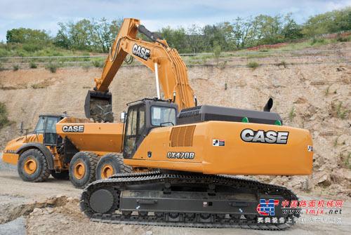 凯斯大型挖掘机推荐,凯斯CX470B履带式挖掘机全解