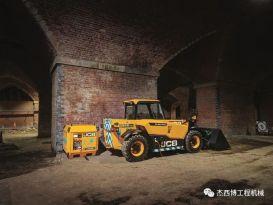 JCB Loadall发布首款纯电动伸缩臂叉装车