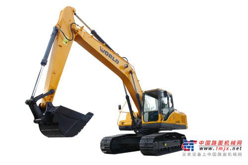 沃得中型挖掘机推荐,沃得W2215-8液压挖掘机全解